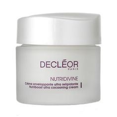#Decleor Nutriboost Ultra Cocooning Cream 50ml is a luxurious and extremely nourishing moisturiser for very dry skin types.
