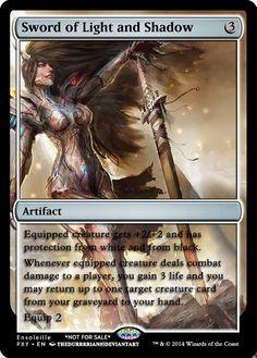 Magic the Gathering - Sword of Light and Shadow by ASliceOfUnagi on DeviantArt