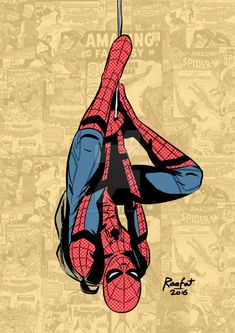 Spent the morning brushing up an old Spider-man sketchto celebrate the release of Spider-man Homecoming trailer today. More experimentation with halftones! The idea to add old covers in the b. Spiderman Tattoo, Spiderman Kunst, Marvel Dc, Marvel Heroes, Marvel Characters, Amazing Spiderman, Marvel Wallpaper, Man Wallpaper, Spiderman Homecoming Drawing
