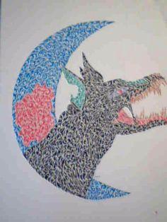 Tribal Hellhound Tattoo by Kimerawolf on DeviantArt Hellhound Tattoo, Tattoo Drawings, Tattoos, Moose Art, Deviantart, Artist, Free, Animals, Tatuajes