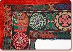 Kyrgyz and Uzbek designs explained