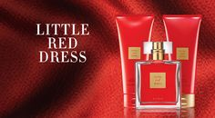 Avon Little Red Dress - Red Raspberry, Sophisticated Bulgarian Rose and Rich Red Sandalwood scents  https://www.avon.com/category/fragrance?rep=mbertsch