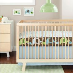 Complete Sheet™ The put together look or crib bumpers but without the risk and high price.