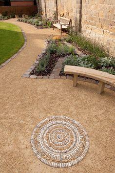 https://flic.kr/p/cTRi8j | _DSC6422-1 | garden of creation - pebble mosaic by Olicana Mosaics photo courtesy of Ian Lamond.