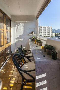 Studio 36m2 Le Corbusier, vue mer. - Appartements à louer à Marseille