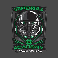 Check out this awesome 'IMPERIAL+ACADEMY+DEATH+TROOPER' design on @TeePublic!