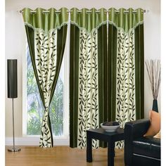 Buy ready made Curtains Online of premium designer range at affordable price . Access our huge collection of Window , Door and Long Door Curtains for your home .