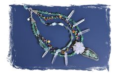 Virgo Moon - One-of-a-kind handmade jewelry and accessories