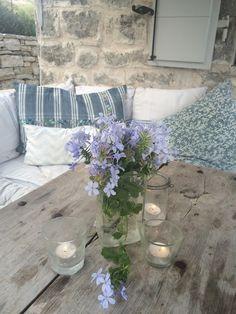 Summer outdoor living Roses and Rolltops : Travel - Villa Iriti, Corfu. Greek Island Heaven.