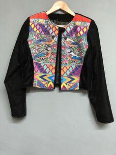 Preston & York Black Velvet style Jacket with Embroidered detail Size – dorothyhouse.shop Embroidered Bird, Embroidered Jacket, Velvet Style, Black Velvet, Velvet Fashion, Slow Fashion, Preston, York, Detail