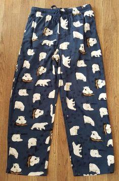 Sizes M Shirt /& Pant NWOT Orvis Mens 2-Piece Pajama Lounge Set Blue L