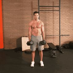16 Traps Exercises for a Bigger, Better Back The Best Trap Workouts - Exercises to Build Trapezius Back Muscles Traps Workout, Push Workout, Gym Workout Videos, Gym Workouts, Shoulder And Trap Workout, Back And Bicep Workout, Dumbbell Workout, Lower Trap Exercises, Back Pain Exercises