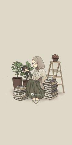 Islamic anime and hijab - # islamic # hijab particular scarf is an essential bit inside clothes Cartoon Kunst, Cartoon Art, Cover Wattpad, Islamic Cartoon, Anime Muslim, Hijab Cartoon, Islamic Wallpaper, Wallpaper Wa, Cute Cartoon Wallpapers