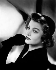 Myrna Loy...amazing actress