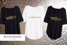 Nashlorette Nashville Bachelorette Party Shirts for the southern bridal party by BlondarazziDesigns on Etsy https://www.etsy.com/listing/268287092/nashlorette-nashville-bachelorette-party