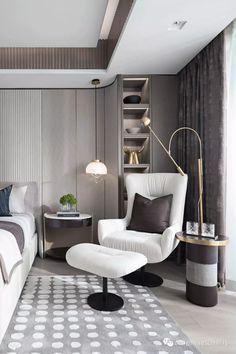 Best Ideas For Bedroom Design Interior Modern Grey Decoration Inspiration, Decoration Design, Decor Interior Design, Furniture Design, Furniture Ideas, Luxury Furniture, Decor Ideas, Furniture Makers, Beautiful Decoration