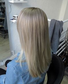 Cool toned blonde