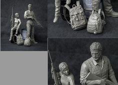 The Last of Us Characters Sculpt joel-statue