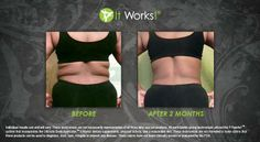 Have back fat? Wrap it up! Hannah 903-504-1482 http://hannahbutler.myitworks.com #backfat #results