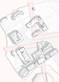 University Island - Follow up! University campus project. Plan