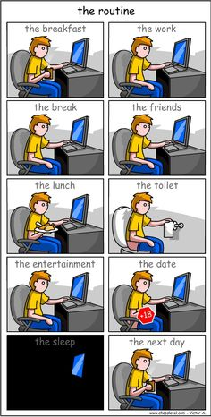 We are so addicted to the internet.