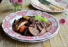 French Garlic & Herb Roast Lamb