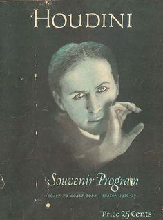 houdini 1926 souvenir program