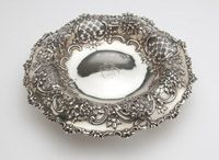 Lot# 1194 A Tiffany sterling silver center bowl, Sold July 2013, $5100.00