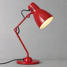 House By John Lewis Tony Task Lamp Teal