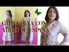 GABARDINA CON AIRE ESPAÑOL:DIY - YouTube