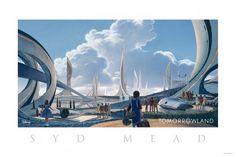 ウォルト・ディズニーの描いた未来像がここに!謎の超大作シド・ミードのコンセプトアート公開!の画像 - シネマトゥデイ