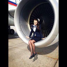 Rossiya Airlines Stewardess @topstewardess