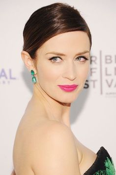bright pink lip lends a youthful glow to your skin, so don't be shy about it.