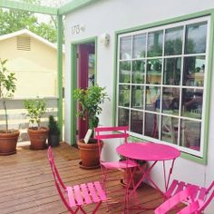 Find This Pin And More On Bucket List Far By Lindseyrenaecox. Hot Pink  Patio Furniture ...