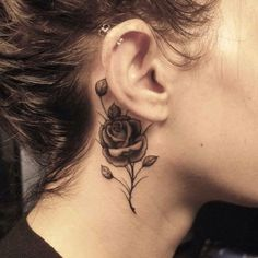 In this post we are going to present 50 Beautiful Rose Tattoo Designs for Girls. These rose tattoo designs are really beautiful and awesome. Black And White Rose Tattoo, White Rose Tattoos, White Ink, Black White, Body Art Tattoos, Small Tattoos, Girl Tattoos, Tatoos, Temporary Tattoos
