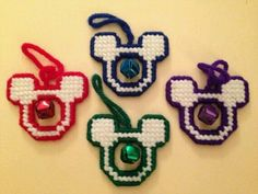 MICKEY MOUSE JINGLE BELL ORNAMENT TEMPLATE 1/2 (COMPLETED PROJECTS)