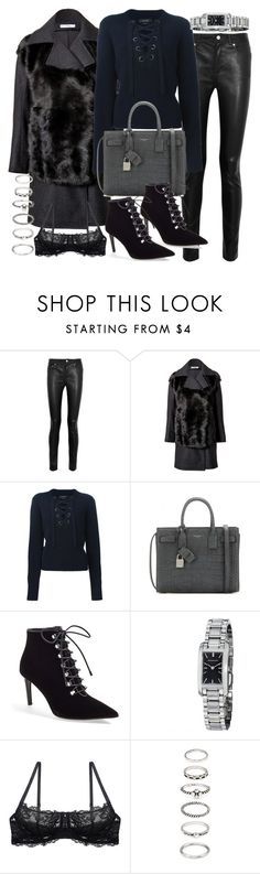 """""""Untitled #19251"""" by florencia95 ❤ liked on Polyvore featuring Acne Studios, Jil Sander, Isabel Marant, Yves Saint Laurent, Balenciaga, Burberry and Forever 21"""