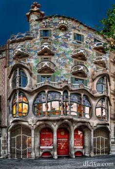Fotografía Casa Batllo (Barcelona) por Domingo Leiva en 500px