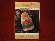 "Hallmark Keepsake Symbols of Christmas Collection ""Sweet Song"" Ornament NIB"