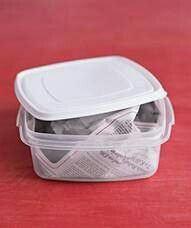 Getting a smell out of your plastic containers