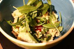 Warm millet salad / Warmer Hirsesalat