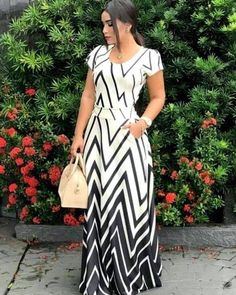 Imported Elegant Printed Polyester Women Dress from Modest Outfits, Classy Outfits, Dress Outfits, Fashion Outfits, Elegant Dresses, Nice Dresses, Casual Dresses, Summer Dresses, African Fashion Dresses