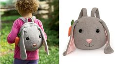 Eco fiends cuddly back packs.