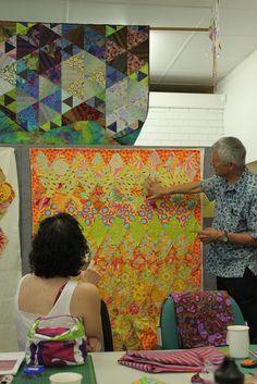 Kaffe Fassett quilt workshop | Flickr - Photo Sharing!