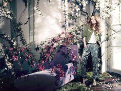 Vanessa Paradis ist in diesem Frühling das Gesicht der Conscious Collection von H