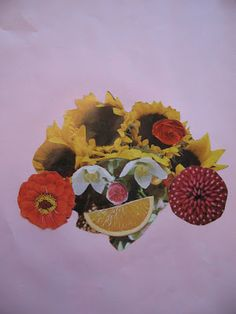 Composite Head Collages - Art for Children - Arcimboldo