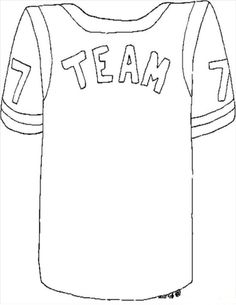 Super Bowl Kid Fun Design Your Own Jersey