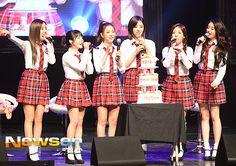 [포토엔]티아라 은정-큐리 '팬들과 함께한 따스한 생일 축하'