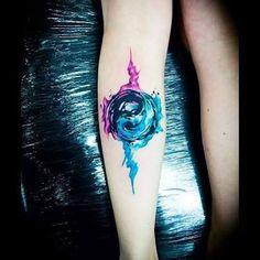 Resultado de imagen para watercolor yin yang