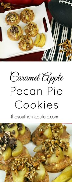 Fall always makes me think of apple pie and pecan pie. Now you can enjoy both together in one fun dessert. Get this fun and new recipe at thesoutherncouture.com.